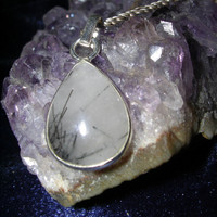 Magick Rutilated Quartz  Amulet ✦ Walk With Spirits ✦ Enlightenment