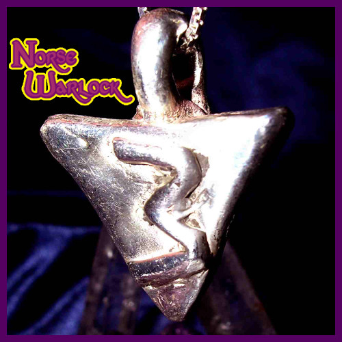 Rule of Three Pendant Draws Prosperity Peace Protection Threefold!