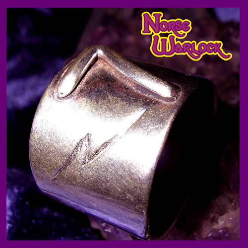 Lucky #7 Lightning Bolt Good Luck Money Ring! Luxury & Abundance!
