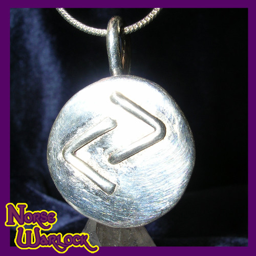 Jera Rune Pendant for Great Reward, Success, Joy & Celebration! Viking