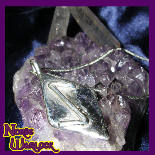 Eihwaz Rune Pendant! Strength, Enlightenment, Motivation & Achievment! Viking