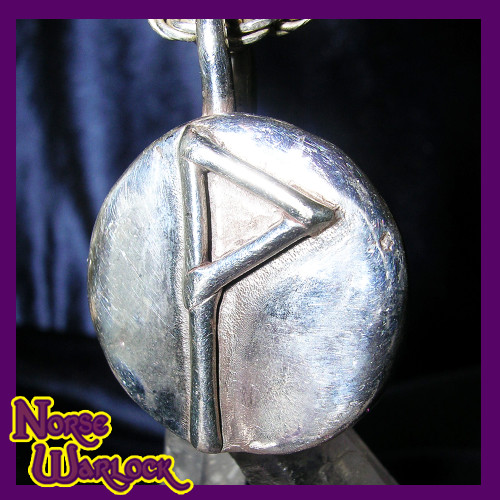 Wunjo Rune Pendant! Ecstasy Prosperity Success Glory & Spiritual Reward!