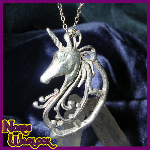 Starshine, Psychic Dream Unicorn Pendant! Creativity Joy & Motivation!