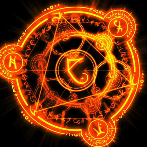 Fire Circle of Protection Spell Repels Evil, Dark Magick & Voodoo!