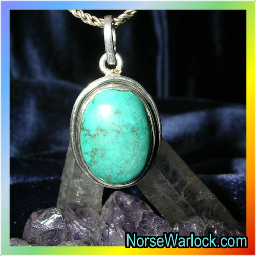 Psychic Turquois Amulet Opens The 3rd Eye ✦ Become Clairsentient!