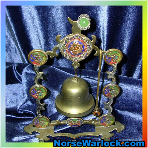 Master Conjurer's Bell & Portal Ring Call Powerful Spirits to Your Command!