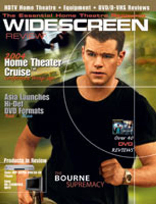 Widescreen Review Issue 092 - The Bourne Supremacy (January 2005)
