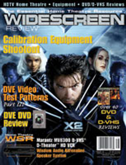 Widescreen Review Issue 079 - X2 (December 2003)
