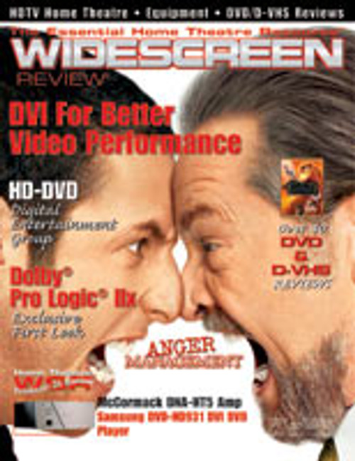 Widescreen Review Issue 077 - Anger Management (October 2003)