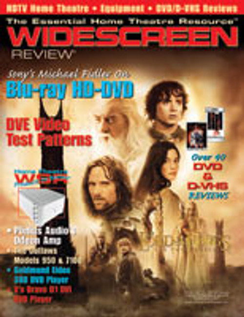 Widescreen Review Issue 076 - The Lord Of The Rings: The Two Towers (September 2003)