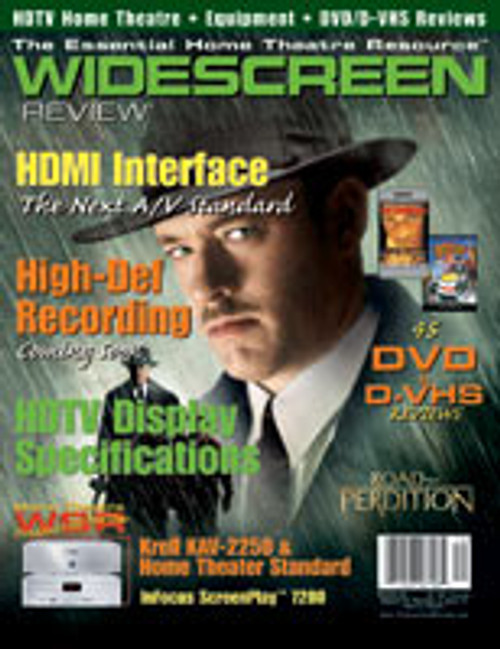 Widescreen Review Issue 070 - Road To Perdition (March 2003)