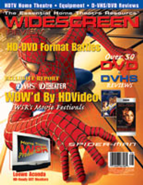 Widescreen Review Issue 066 - Spider-Man (November 2002)