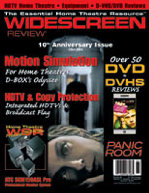 Widescreen Review Issue 065 - Panic Room (October 2002)