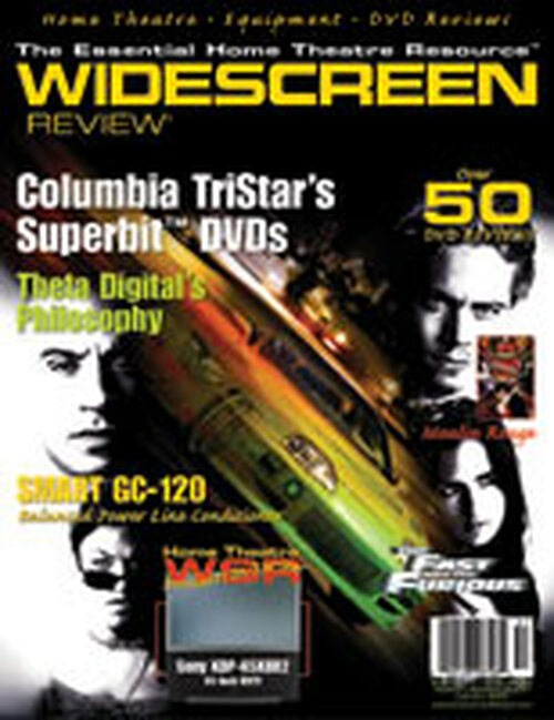 Widescreen Review Issue 057 - The Fast And The Furious (February 2002)