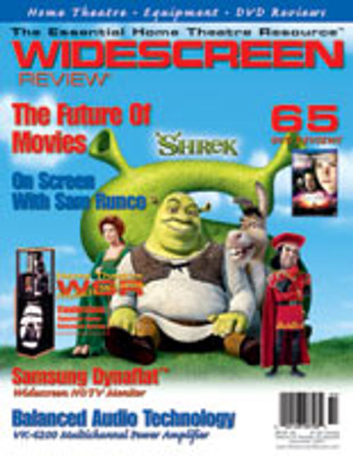 Widescreen Review Issue 054 - Shrek (November 2001)