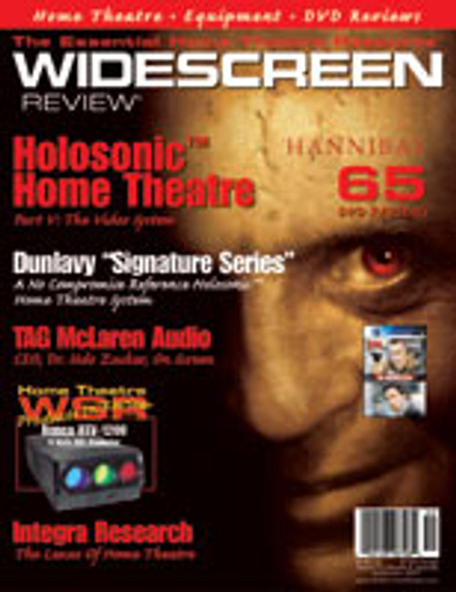 Widescreen Review Issue 052 - Hannibal (September 2001)