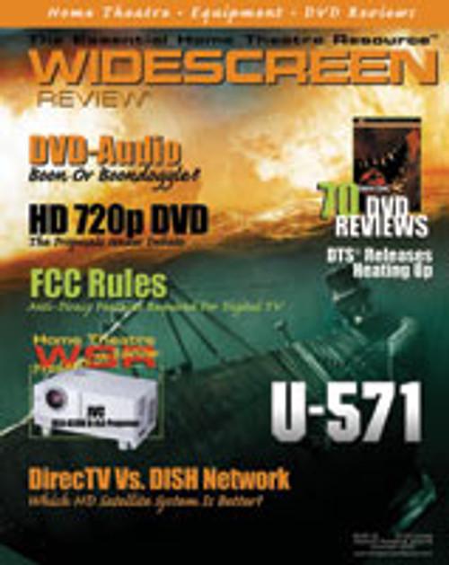 Widescreen Review Issue 043 - U-571 (November 2000)