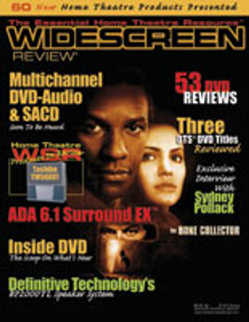 Widescreen Review Issue 037 - The Bone Collector (February 2000)