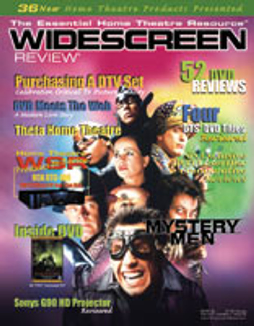 Widescreen Review Issue 036 - Mystery Men (January 2000)