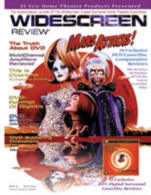 Widescreen Review Issue 025 - Mars Attacks (September 1997)