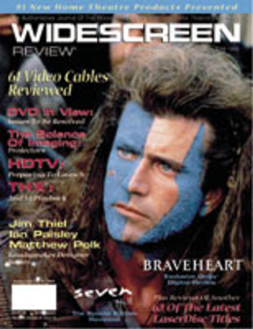 Widescreen Review Issue 019 - Braveheart (June 1996)