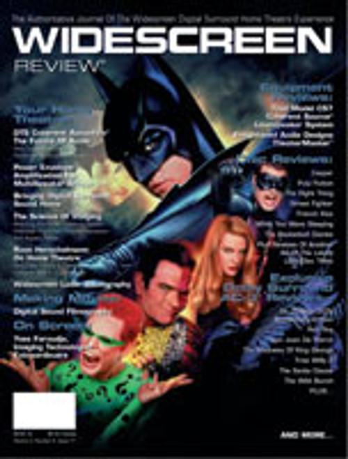 Widescreen Review Issue 017 - Batman Forever (November/December 1995)