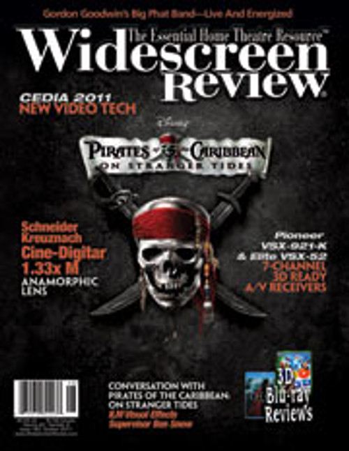 Widescreen Review Issue 160 - Pirates Of The Carribean: On Stranger Tides (October 2011)
