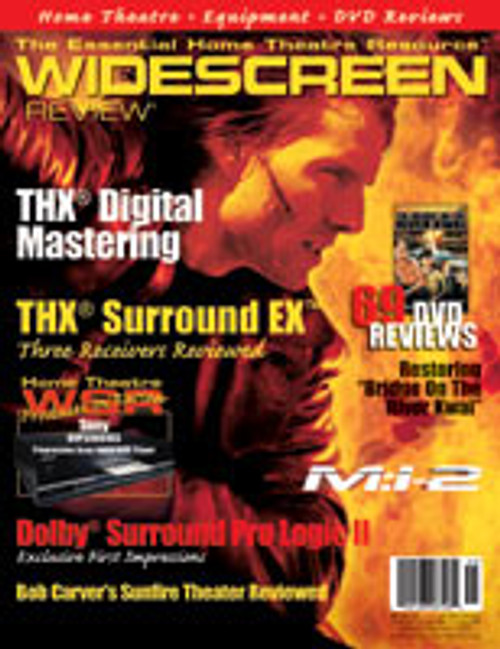 Widescreen Review Issue 045 - Mission: Impossible 2 (January/February 2001)
