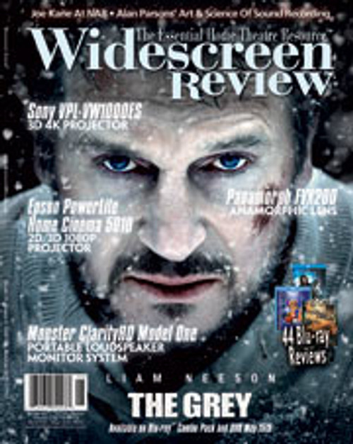 Widescreen Review Issue 167 - The Grey (May/June 2012)