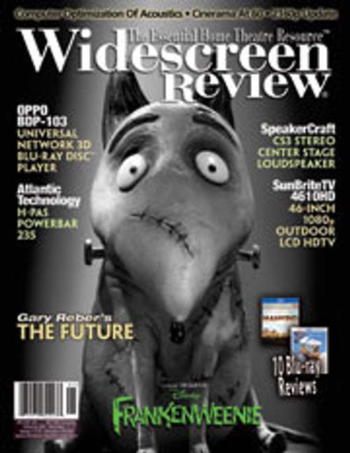 Widescreen Review Issue 173 - Frankenweenie (January 2013)