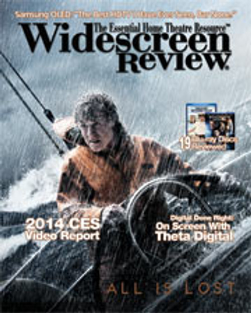 Widescreen Review Issue 184 - All Is Lost (February 2014)