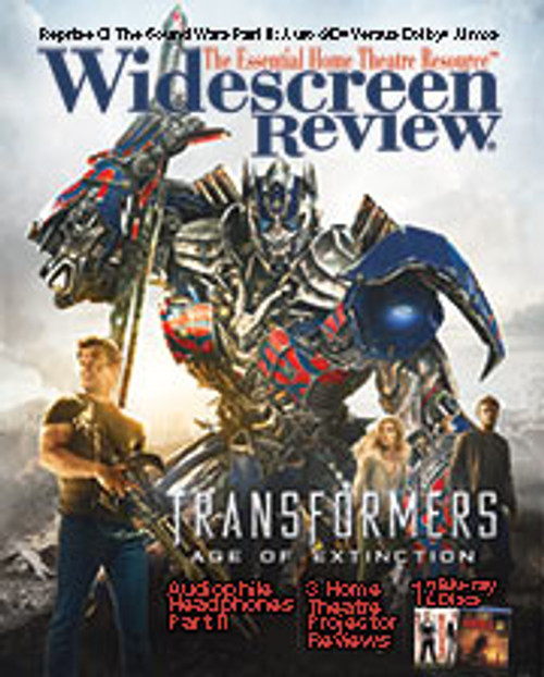 Widescreen Review Issue 190 - Transformers Age Of Extinction (October 2014)