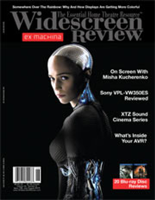 Widescreen Review Issue 198 - Ex Machina (July/August 2015)