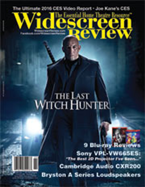 Widescreen Review Issue 204 - The Last Witch Hunter (February 2016)