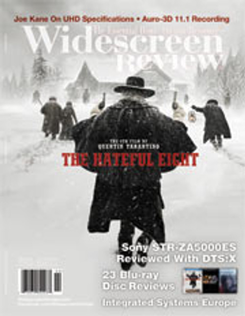 Widescreen Review Issue 206 - The Hateful Eight (April/May 2016)