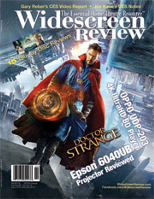 Widescreen Review Issue 214 - Doctor Strange (February 2017)