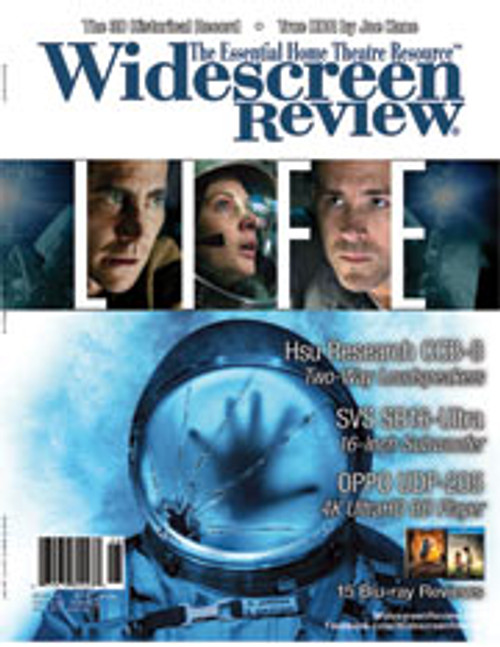 Widescreen Review Issue 217 - Life (June 2017)