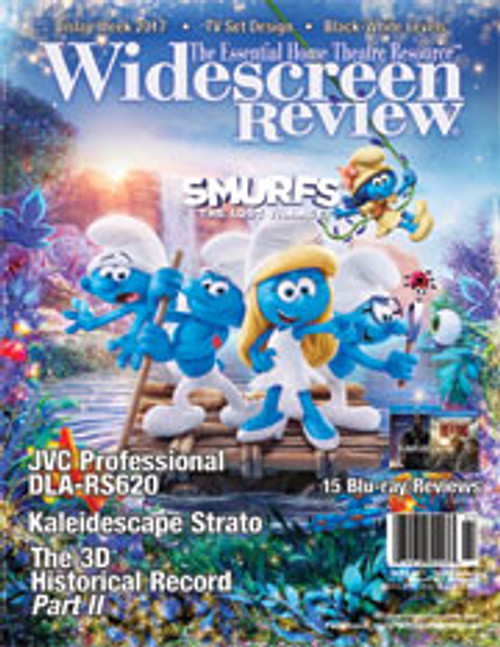 Widescreen Review Issue 218 - Smurfs The Lost Village (July/August 2017)