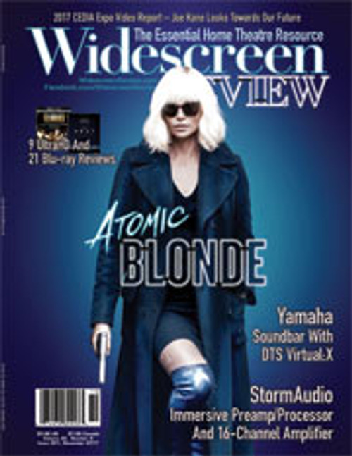 Widescreen Review Issue 221 - Atomic Blonde (November 2017)