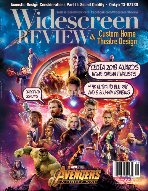 Widescreen Review Issue 230 - The Avengers: Infinity War (July 2018)