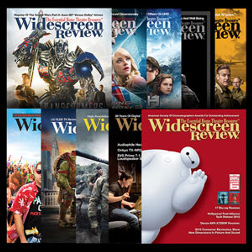 Widescreen Review Subscription (Canada/Mexico Residents)