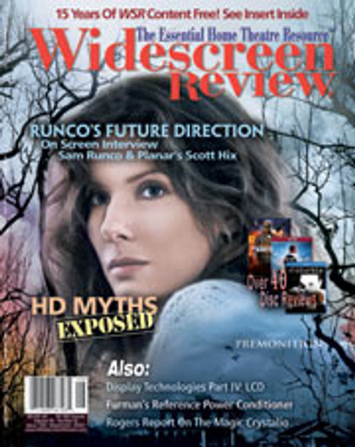 Widescreen Review Issue 123 - Premonition (September 2007)