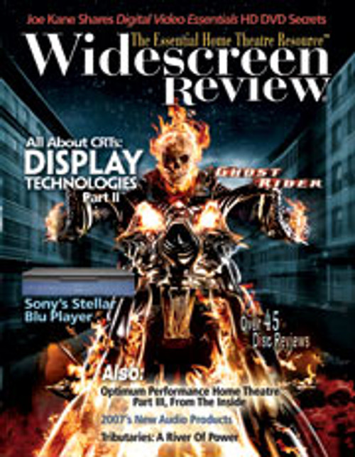 Widescreen Review Issue 121 - Ghost Rider (June 2007)