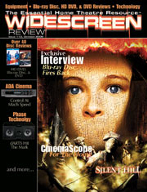 Widescreen Review Issue 113 - Silent Hill (October 2006)