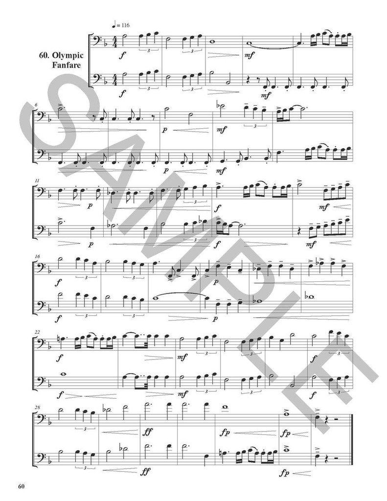 Big Book of Sight Reading Duets for Trombone