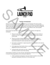 Launch Pad for Trombone: Blast Off! Tone and Technique