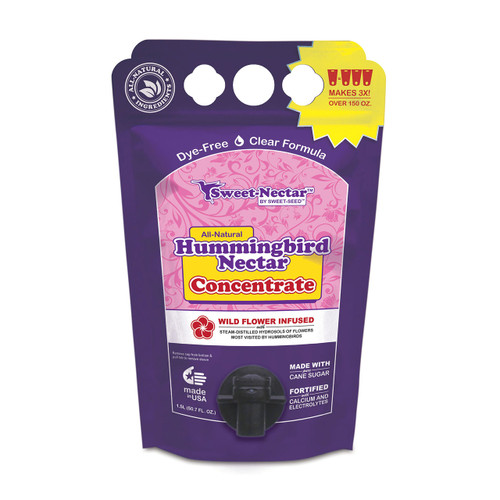 NEW! Sweet-Nectar™ Hummingbird Nectar Concentrate Eco-Fresh™ Pouch (Select your pack size)