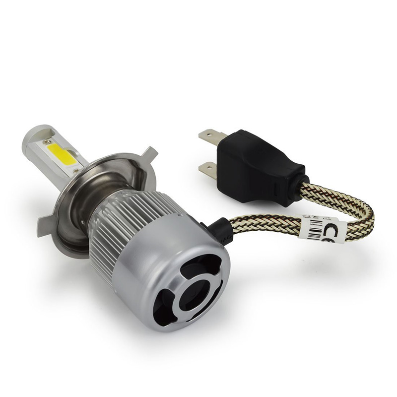 Affordable LED Headlight Kits with COB (chip-on-board) LEDs.