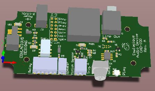 Model of CAD-100 board