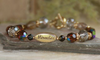 IN-238 Miracles bracelet gold tone